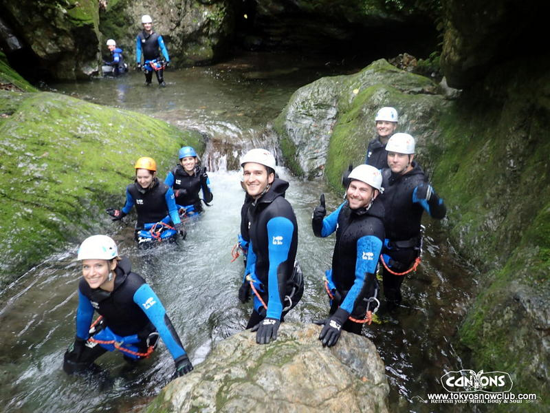 Canyoning in Okutama