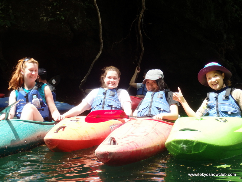 Golden Week Kayaking