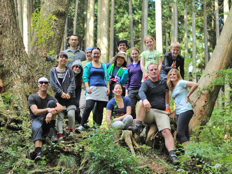 Doves Nest Valley to Mitake Hike