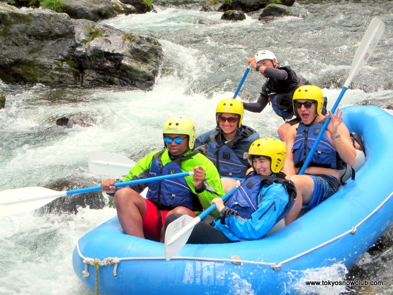 Rafting in Okutama