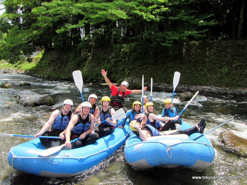 Golden Week Rafting in Okutama